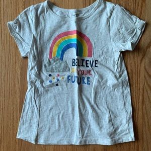"""Cater's """"Believe In Your Future"""" Girls Tee"""